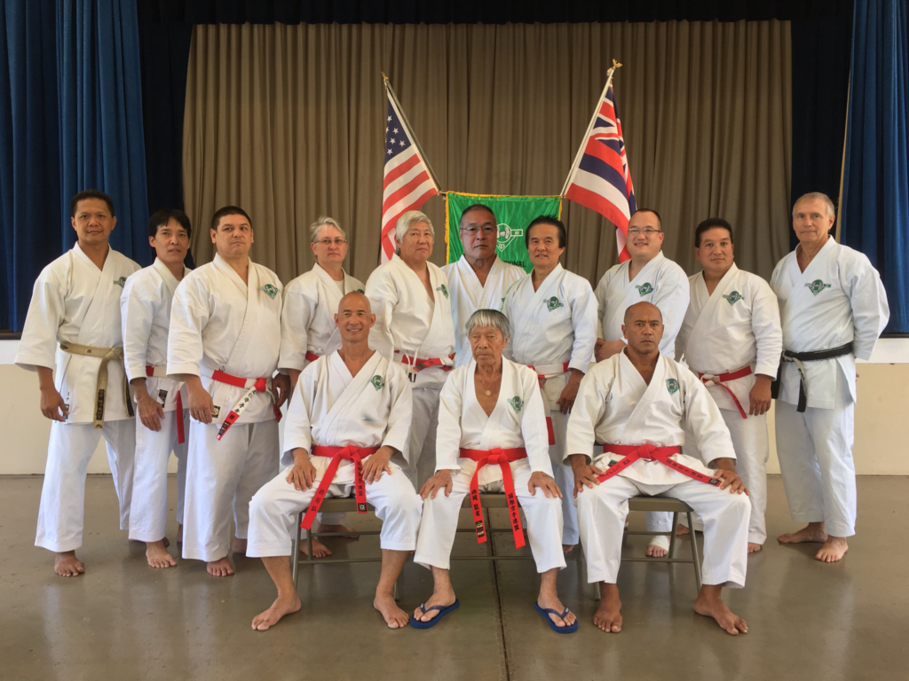 Walter Nishioka Shihan and the Internation Karate League Board of Governors